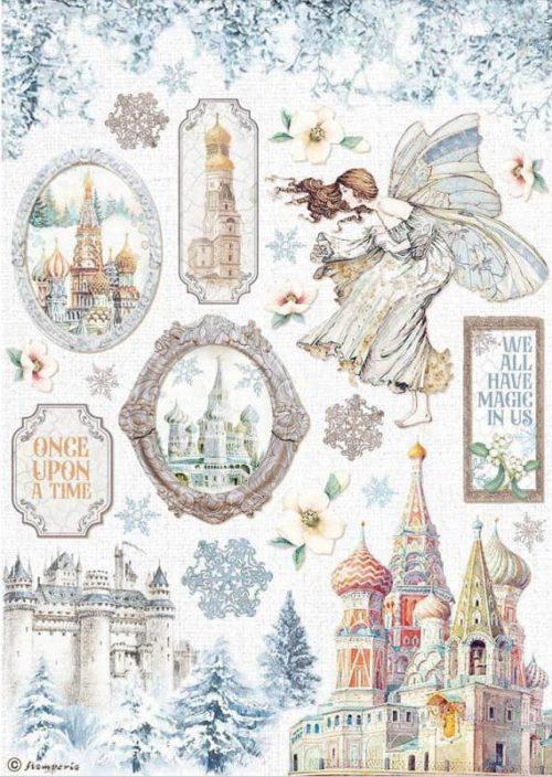 Rice Paper - Winter Tales Castle - DFSA4584