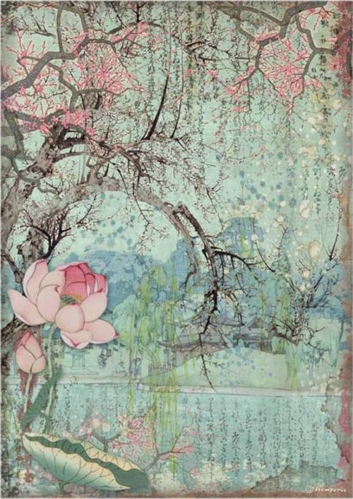 Rice Paper - Sir Vagabond in Japan - Oriental Tree - DFSA4607
