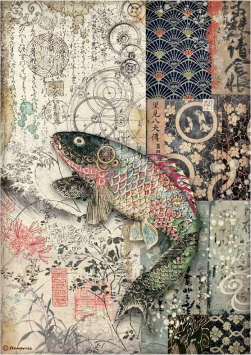 Rice Paper - Sir Vagabond in Japan - Mechanical Fish - DFSA4609