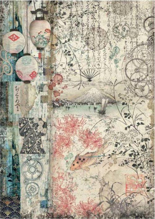 Rice Paper - Sir Vagabond in Japan - Lamps - DFSA4611