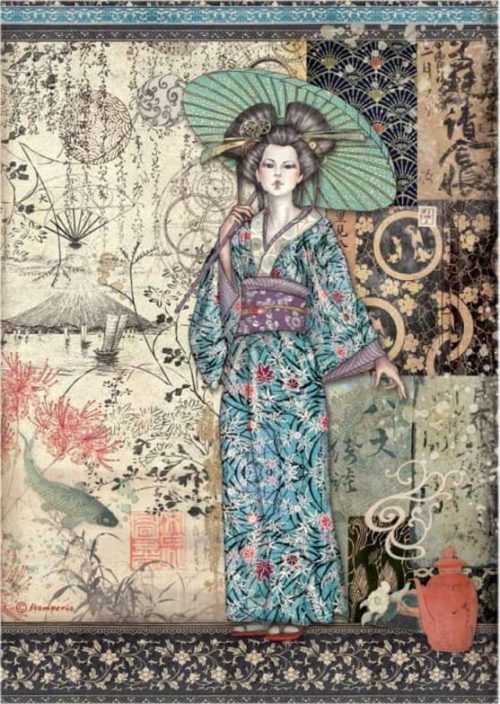 Rice Paper - Sir Vagabond in Japan - Lady - DFSA4612