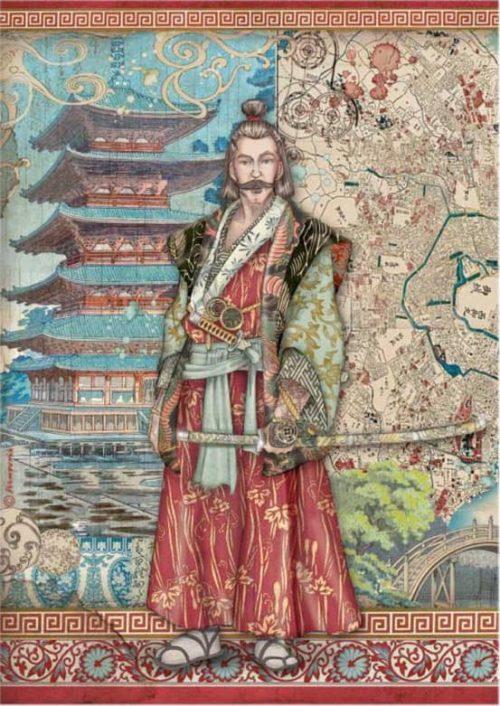 Rice Paper - Sir Vagabond in Japan - Samurai - DFSA4613